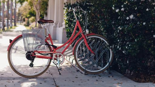 Nobel Laureate honored with a parking place—for his bike