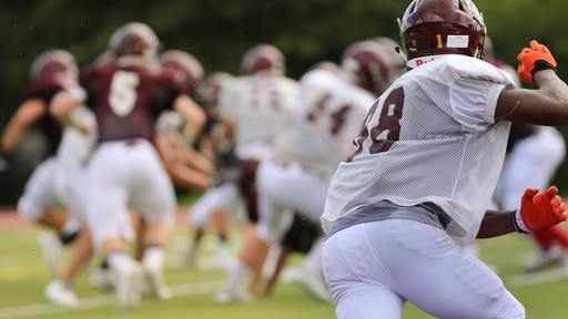 Running quarterback finds it hard to stay in the game