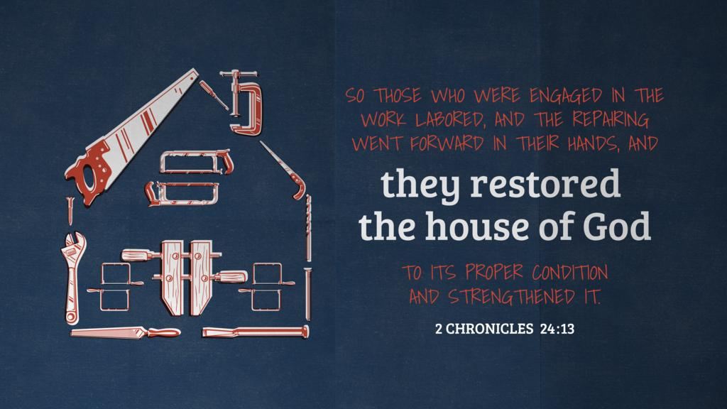 2 Chronicles 24:13 large preview