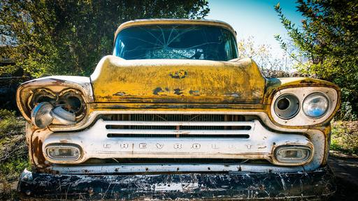 Woman drives '57 Chevy in great shape