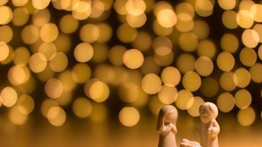 The fourth Advent candle celebrates the message of the angel