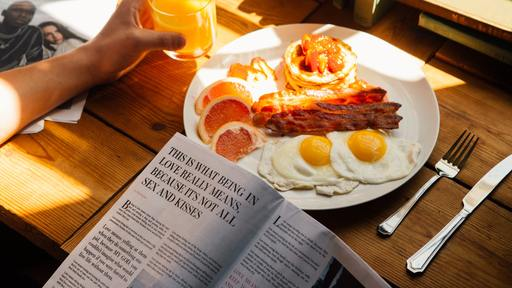 In Christian life, are you offering eggs or bacon?