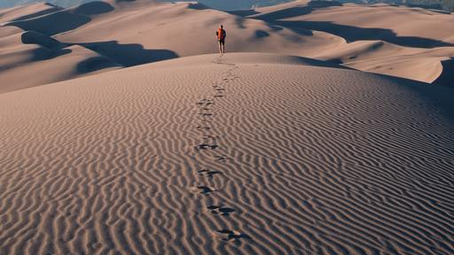 Walking in the desert with God