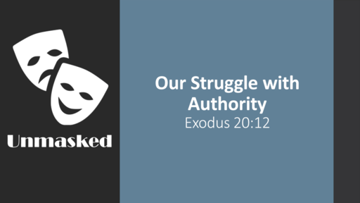 The Struggle with Authority