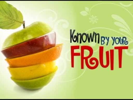 Known By Your Fruit - The Introduction