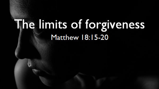 The limits of forgiveness