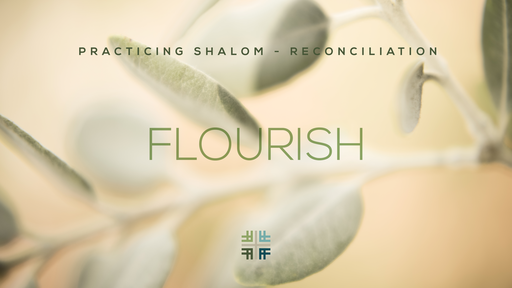 January 27, 2019 -FLOURISH - Practicing Shalom - Reconciliation