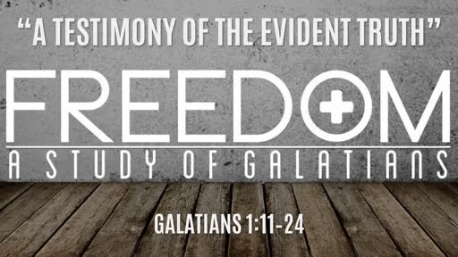 """A Testimony of the Evident Truth"" 