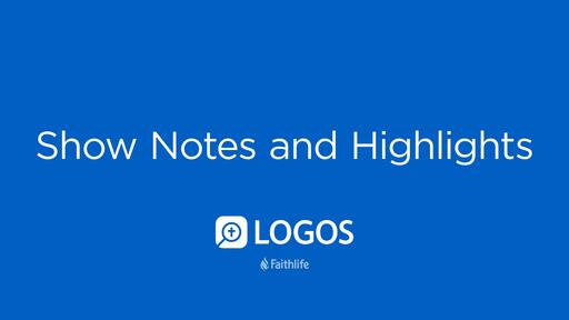 Show Notes And Highlights