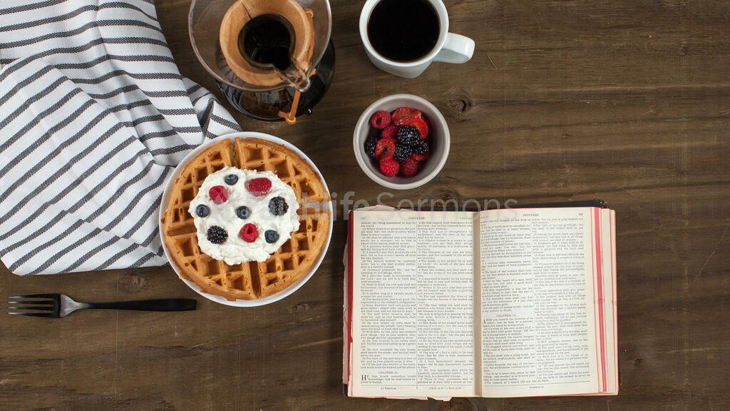 Breakfast waffle and the bible 16x9 a3b6db20 f208 4648 b89e a576626fd0d0 preview