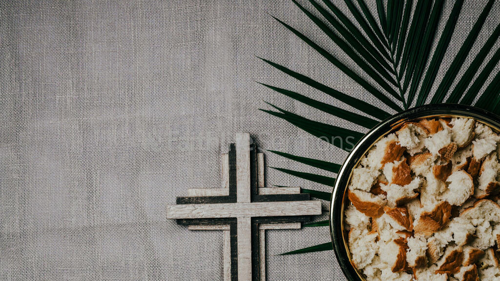 Communion Palm Branches tray and wooden cross 16x9 c6dc02ad 4388 4ef8 a104 23375ff2a284 preview