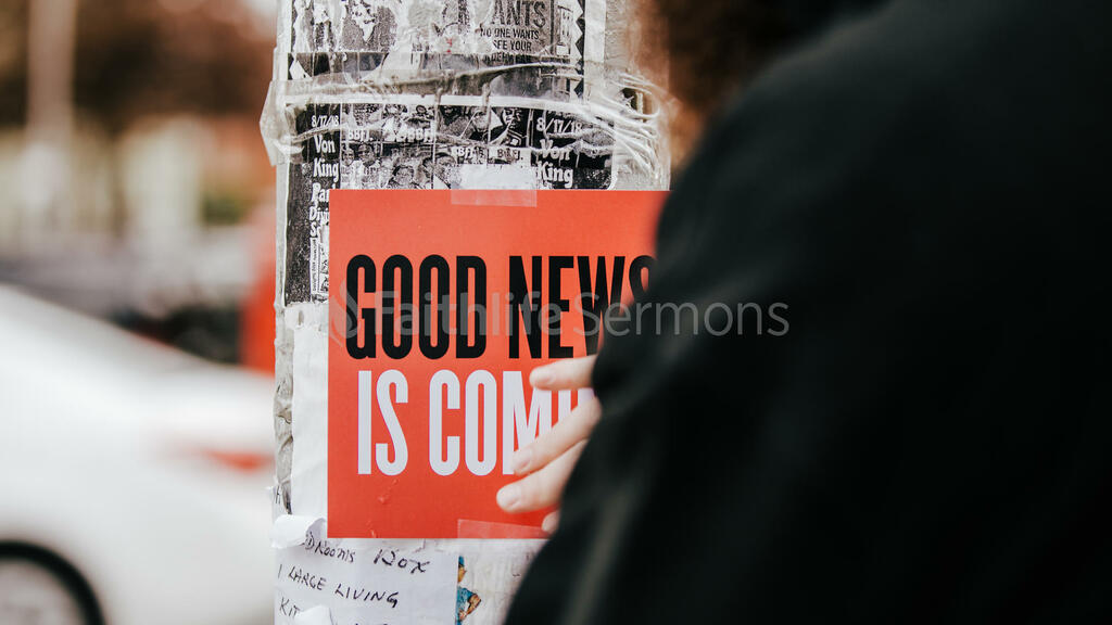 Urban Easter good news is coming poster in the city 16x9 8b8f9c50 2502 4235 9ca0 e84d2065a2d2 preview