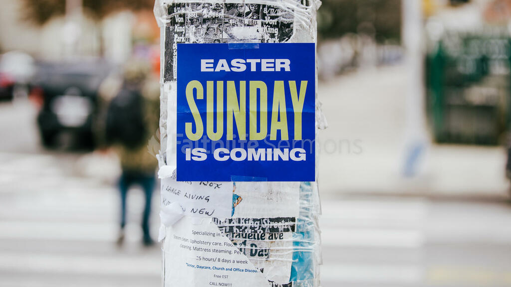 Urban Easter sunday is coming poster in the city 16x9 61347aa7 fd2a 4e52 93a3 c5777296ca23 preview