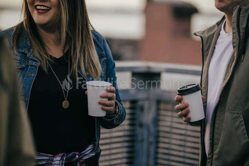 Church Lifestyle people talking outside of 16x9 776660a2 7f30 4f15 991a e359a463bb33 preview