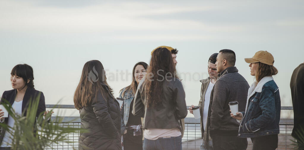 Church Lifestyle people talking outside of 16x9 88d985f1 7c6d 4c94 89f7 b4a3aa8f13fc preview