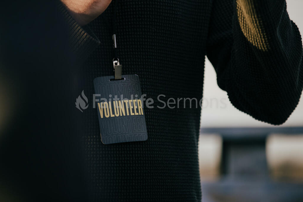 Church Lifestyle man wearing a volunteer badge 16x9 8f1fd501 d7f3 45da abf9 cdaebf9f4104 preview