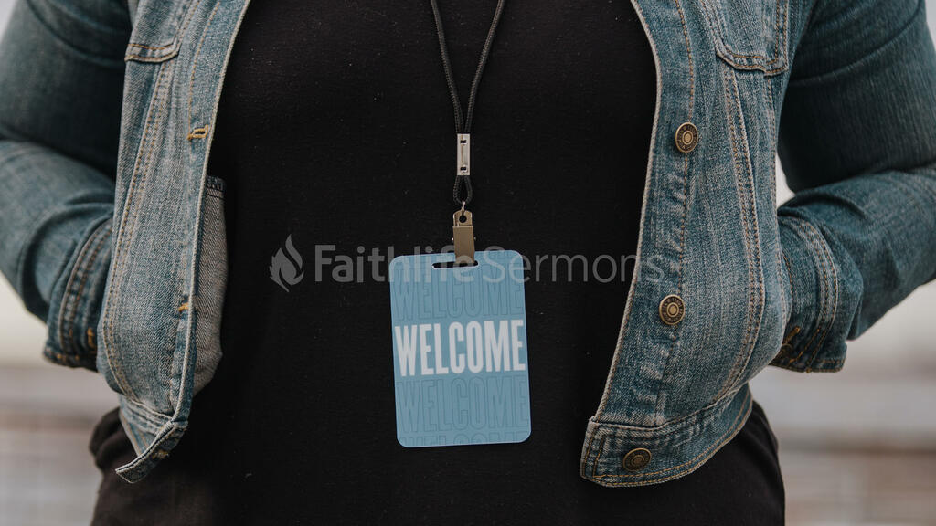 Church Lifestyle woman in welcome badge 16x9 6173381e 3f4e 452b ad23 d7e40a1fc0f5 preview