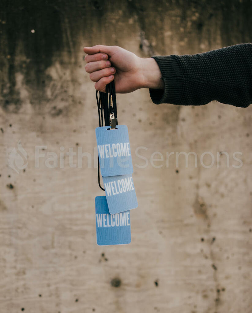 Church Lifestyle hand in frame holding welcome badges 16x9 cf33c3b3 bf53 4468 8be8 8b2a60879a46 preview