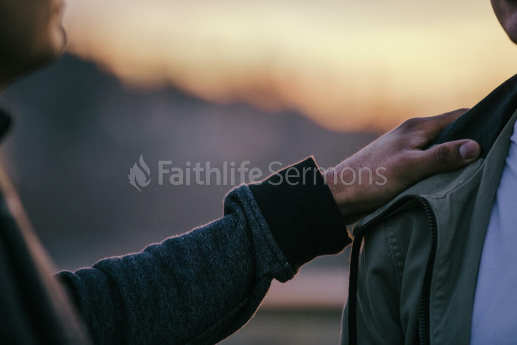 Prayer man putting hand on shoulder 16x9 3b42aa7c 6292 47df b63f dcba5895b94a preview