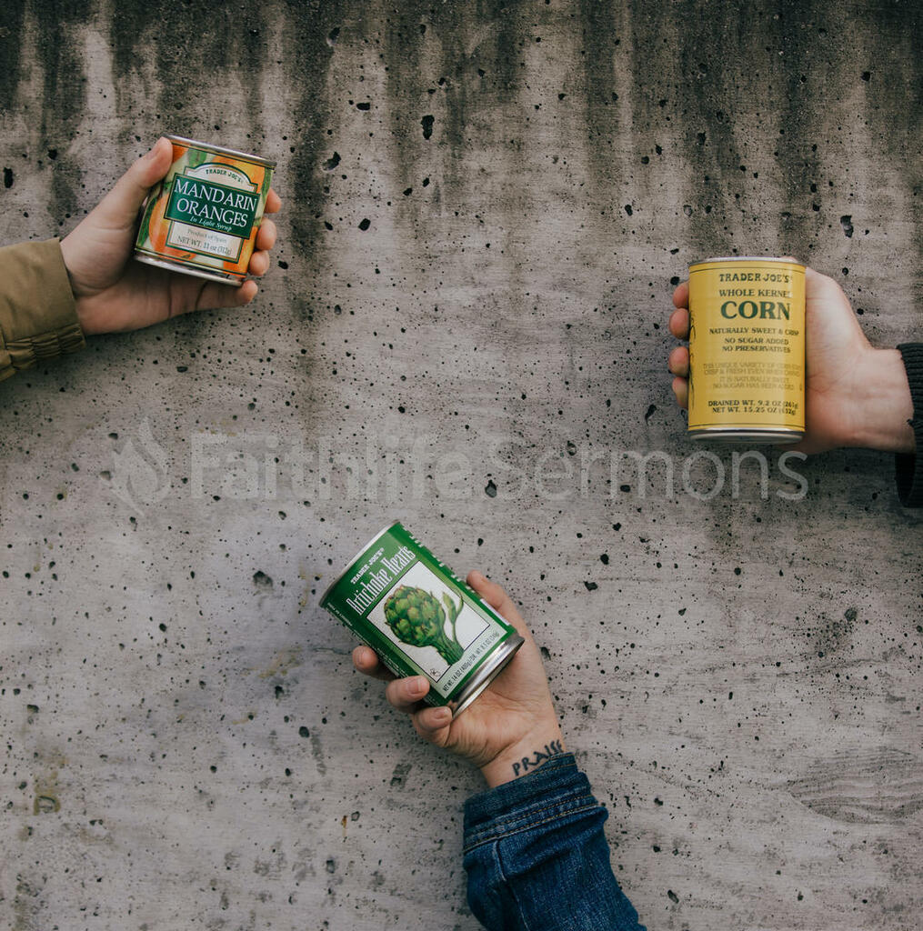 Canned Food Drive large preview