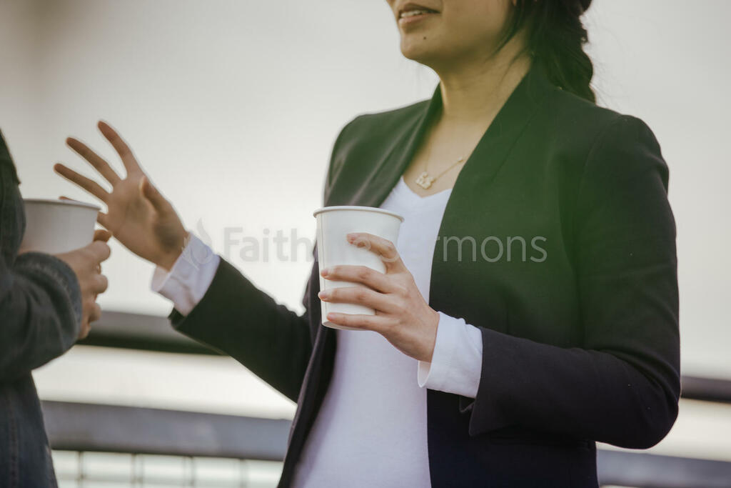 Women's Ministry women talking with coffee cups 16x9 285456a3 39d1 486f b990 90435a5a03ee preview