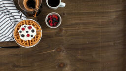 Breakfast waffle and coffee 16x9 c69f1e99 8908 40ea a413 b496952fbdb4 image