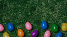 Colorful Eggs with Flowers  image 4