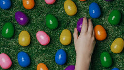 Colorful Eggs with Flowers  image 5