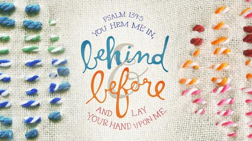 Psalm 139:5 verse of the day image