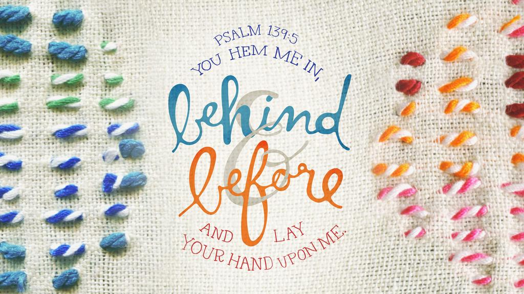Psalm 139:5 large preview