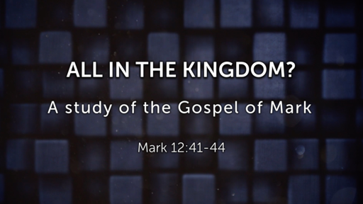 All in the Kingdom? - 01/06/2019