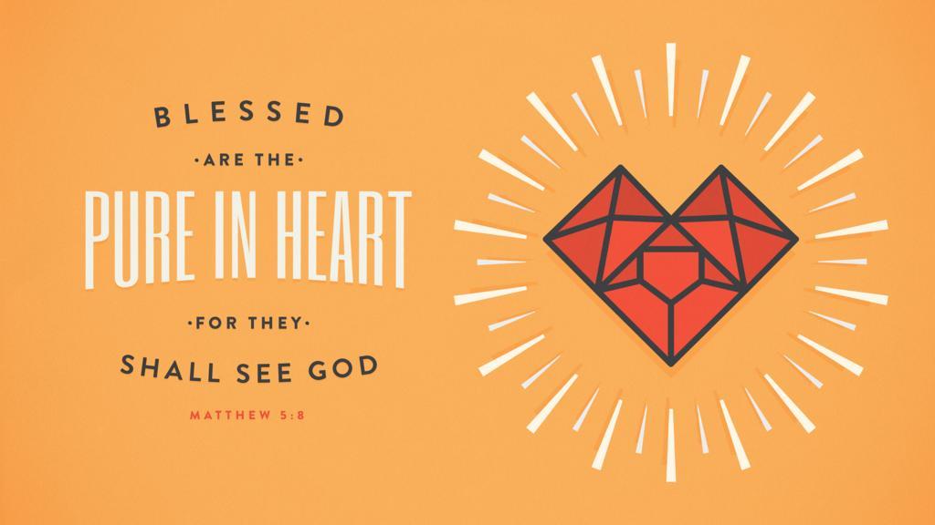 Matthew 5:8 large preview