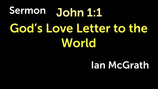 God's Love Letter to the World