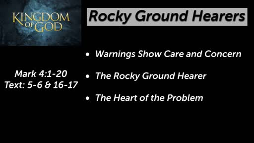 Rocky Ground Hearers