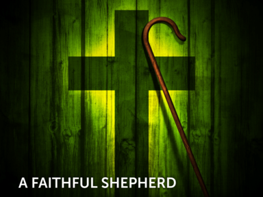 A Faithful Shepherd (35 Years)