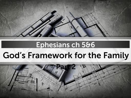God's Framework for the Family