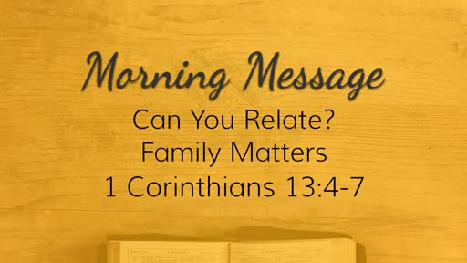 February 3, 2019 - Family Matters