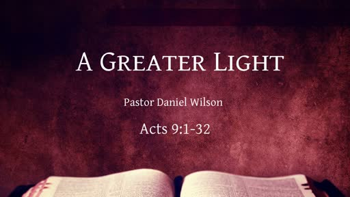 A Greater Light
