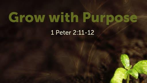 Grow with Purpose