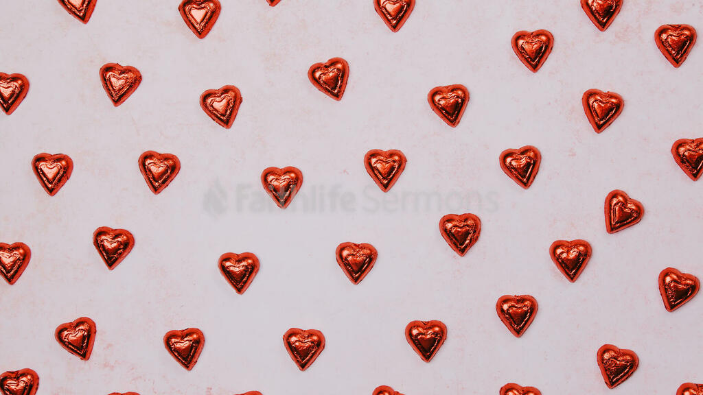 Candy and Hearts large preview