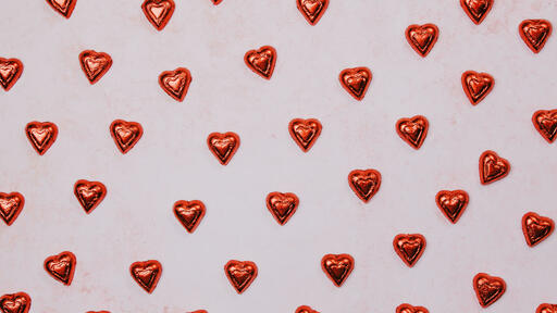 Candy and Hearts