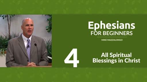 All Spiritual Blessings in Christ