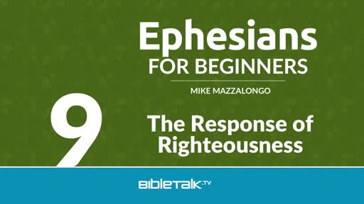 The Response of Righteousness