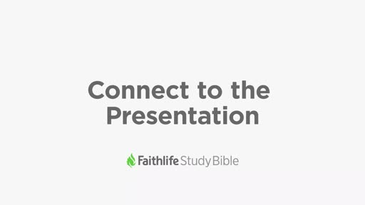 Connect to the Presentation