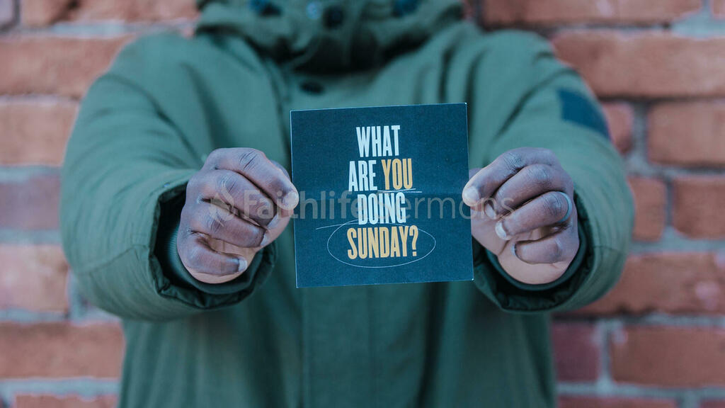 Church Invite Card large preview