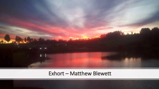 10th February 2019 - Exhort