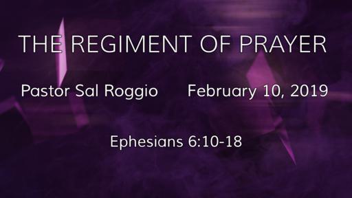 THE REGIMENT OF PRAYER