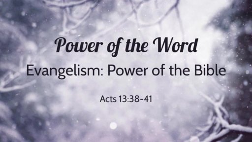 Power of the Word