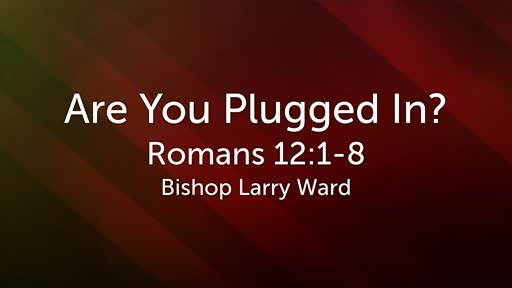 Are You Plugged In?