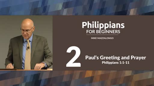 Paul's Greeting and Prayer